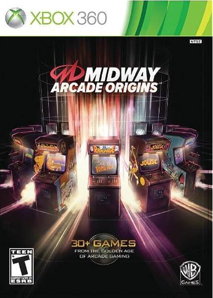 Amazon Com Midway Arcade Origins Xbox 360 Video Games