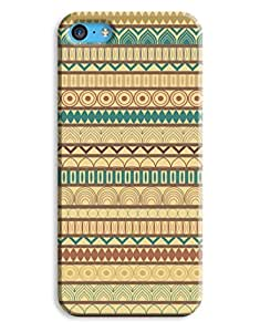 Earthy Aztec Case for your iPhone 5C