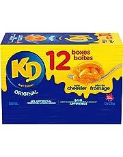 Kraft Dinner Original Macaroni & Cheese 225g, Pack of 12