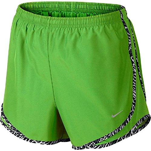 [Nike Women's Dri-FIT Tempo Running Shorts (S, Green)] (Dri Fit Tempo Running Shorts)