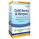 Dr. King's Natural Medicine Cold Sores & Herpes 2 fl oz (59 ml) -2 Pack