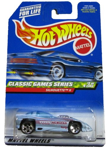 Mattel Hot Wheels Classic Games Series #2 of 4 cars, Silhouette II #982 1:64 ()
