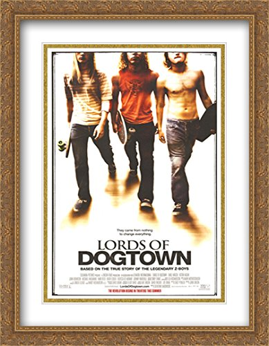 - Lords of Dogtown 28x36 Double Matted Large Gold Ornate Framed Movie Poster Art Print