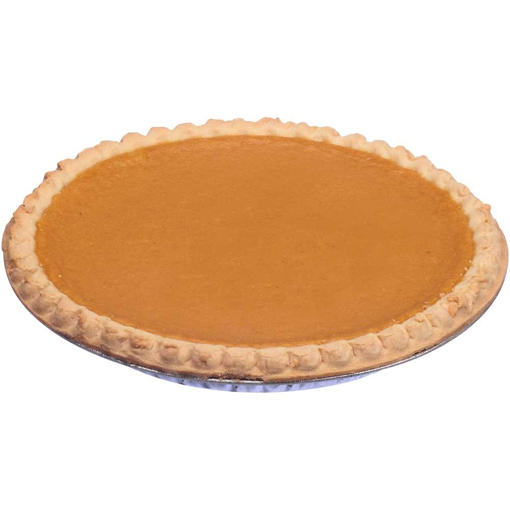 Sara Lee Chef Pierre Pre Baked Sweet Potato Open Face Specialty Pie, 10 inch - 6 per case.