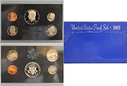 1983 S Proof set Collection Uncirculated US Mint (Uncirculated Nice Coin)