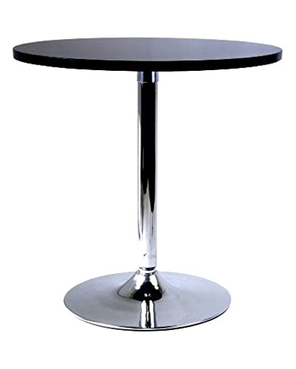 Amazoncom Circular Dining Table With Black Wooden Round Table Top