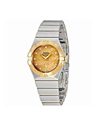 Omega Constellation Champagne Dial Ladies Watch 123.20.27.60.58.003