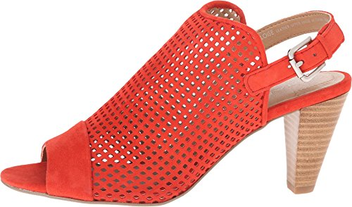 Suede Sandal Eloise Blood Orange Dress Tahari Women's qY1wttZ