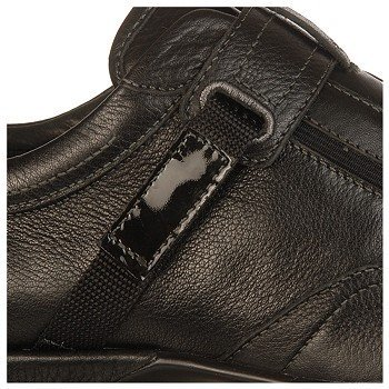 Aetrex Women's Essence Diane Single Strap Slip-On B0092F5E7I 10 B(M) US|Black Leather