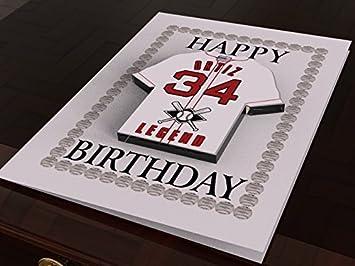 Tarjetas de regalo personalizables con camisetas de baloncesto de ...