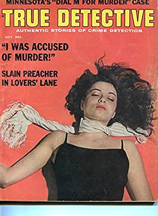 True Detective October 1963 Strangulations Murder Cover G