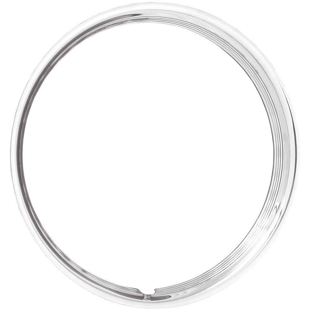 Coker Tire 3006-15 Trim Ring 15 Inch Hot Rod Ribbed