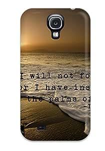New Premium Flip Case Cover Christian Skin Case For Galaxy S4