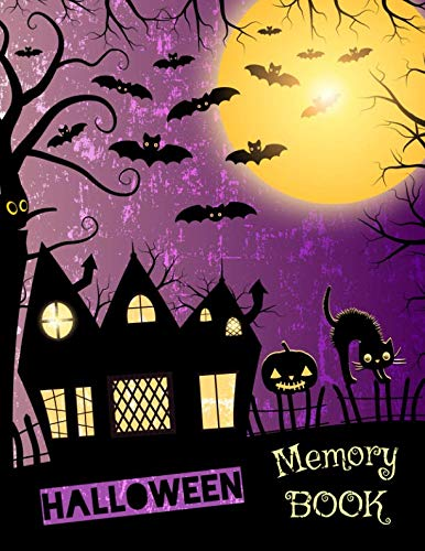 Halloween Memory Book: Spooky Journal to Keep Stories