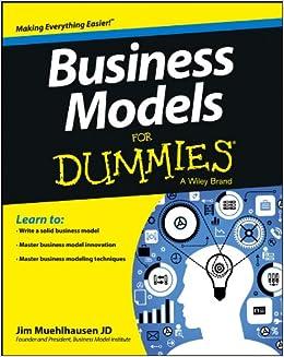 business models for dummies muehlhausen jim