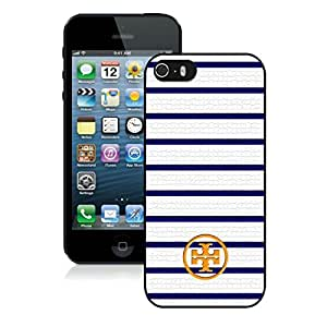 Fahionable Custom Designed iPhone 5S Cover Case With Tory Burch 72 Black Phone Case