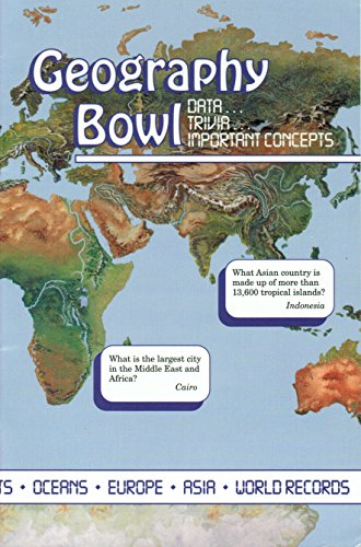 GEOGRAPHY BOWL - QUIZ TEAM BOOK (Geography Bowl)