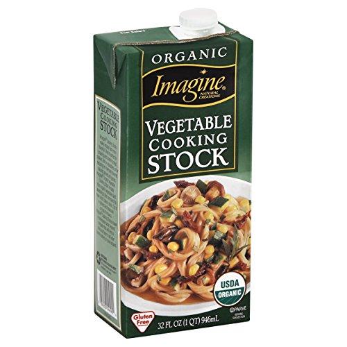 Imagine Organic Vegetable Broth, 32 Ounce Kosher Stock