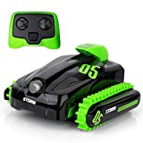 Ericoo Waterproof Remote Control Car Boat Amphibious Stunt- 2.4Ghz All Terrain RC Cars - 1/16 Scale -Remo003