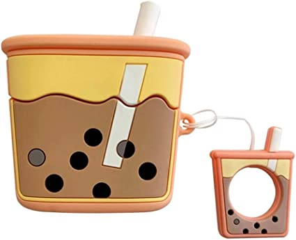 Amazon Com Airpods Pro Case Boba Tea Akxomy Cute Airpods Pro
