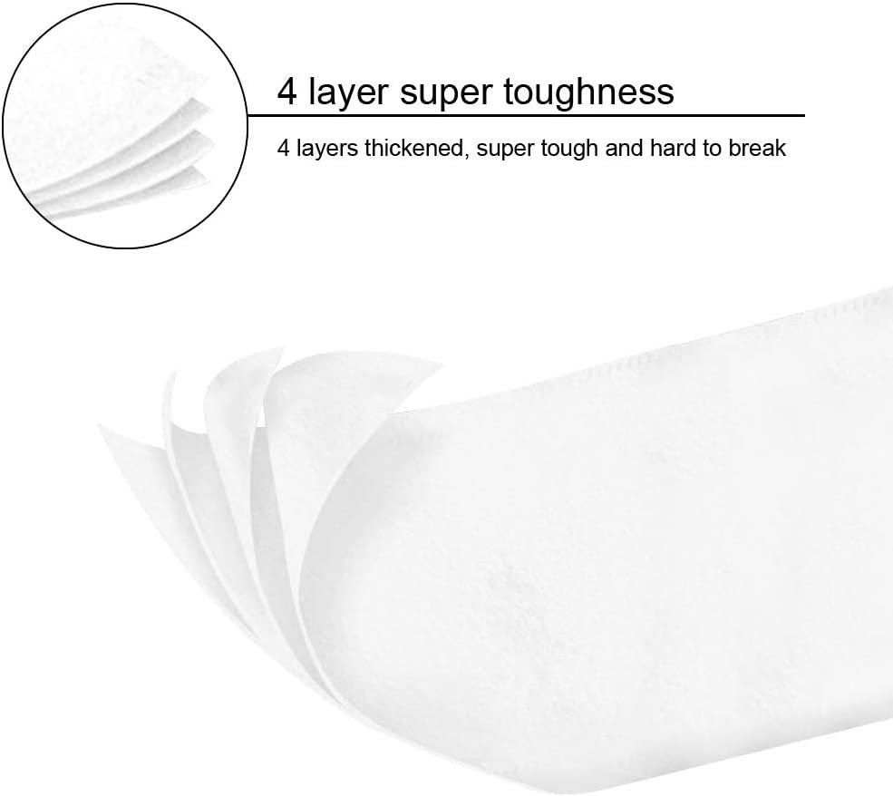 salle de bain /épaississant doux et respectueux de la peau MaOjie Lot de 4 rouleaux de papier pour toilettes