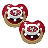 NFL Football 2014 Baby Infant Pacifier 2-Pack – Pick Team (San Francisco 49ers – Holes)