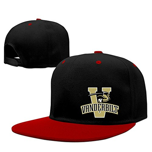 Price comparison product image Male / female Vanderbilt Commodores Cool Adjustable Snapback Hip-hop Baseball Cap
