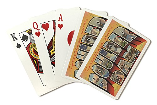 Greetings from Boulder Dam, Nevada (Playing Card Deck - 52 Card Poker Size with Jokers)