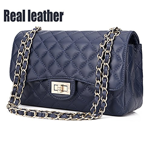 quilted chain bag - 4
