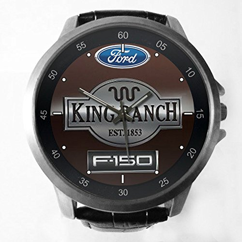 King Ranch F-150 Custom Metal Sport Watch with Leather Band