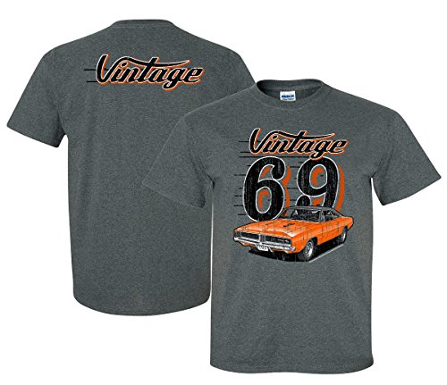 '69 Dodge Charger Vintage Men's T Shirt