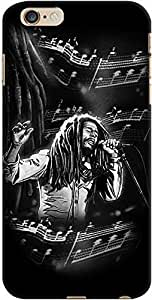 DailyObjects Bob Marley Case For iPhone 6 Plus Black