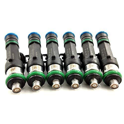 6PCS Fuel Injectors 0280158119 For 07-10 Chrysler Dodge Jeep 3.3//3.8L