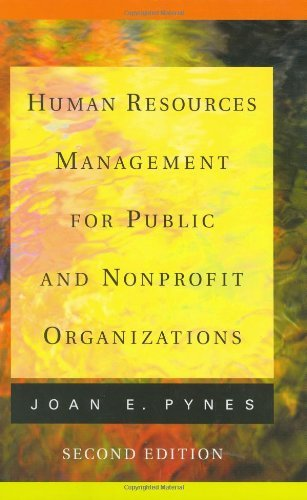 Human Resources Management for Public and Nonprofit Organizations:2nd (Second) edition