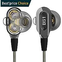Actionpie in-Ear Headphones Earbuds High Resolution Heavy...