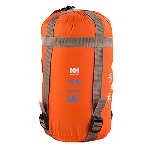 LightInTheBox Naturehike - Sobre para saco de dormir o saco rectangular (20 °C), naranja: Amazon.es: Deportes y aire libre