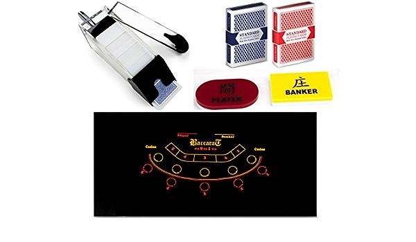 Ps Professional Casino Style Complete Baccarat Set Jugar Casino Baccarat En Casa Sports Outdoors Amazon Com