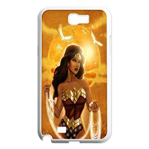 High Quality {YUXUAN-LARA CASE}Super DC Hero Wonder Woman For Samsung Galaxy Note 2 STYLE-18