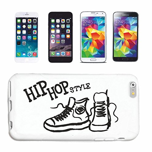 "cas de téléphone iPhone 7+ Plus ""HIP HOP STYLE RETRO SNEAKERS HIP-HOP DANSE HIPHOP STYLE"" Hard Case Cover Téléphone Covers Smart Cover pour Apple iPhone en blanc"