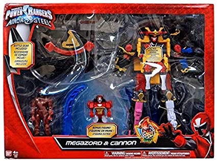 Amazon.com: power rangers Ninja Acero DX Ninja Batalla ...