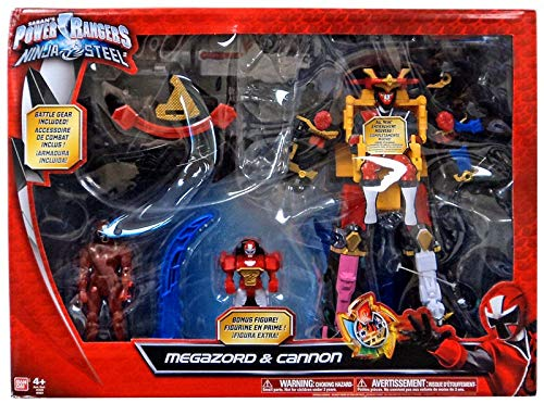 Amazon.com: Power Rangers Ninja Steel Megazord & Cannon ...