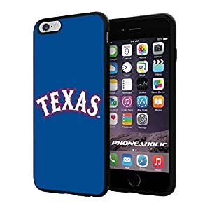 MLB Texas Rangers Baseball,Cool Case Cover For Apple Iphone 4/4S Smartphone Collector iphone PC Hard Case Black