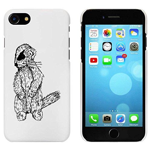Blanc 'Ours en Peluche Meerkat' étui / housse pour iPhone 7 (MC00064712)