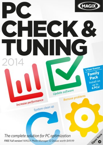 MAGIX PC Check & Tuning 2014 [Download] by MAGIX