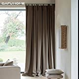 Thick living room bedroom curtains,59102inch 98102inch 138102inch Taupe-A 59102inch