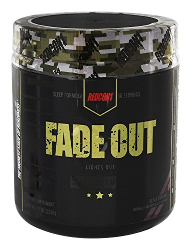 Price comparison product image Redcon1 Fade Out - Sleep Formula NET WT. 7.9oz (225G)(Black Currant)