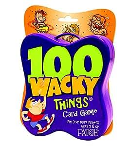 100 Wacky Things Card Game