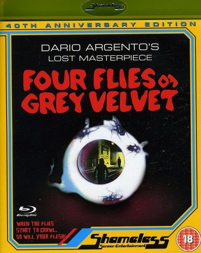 Blu-ray : Four Flies On Grey Velvet (40th Annniversary Edition) (Blu-ray)
