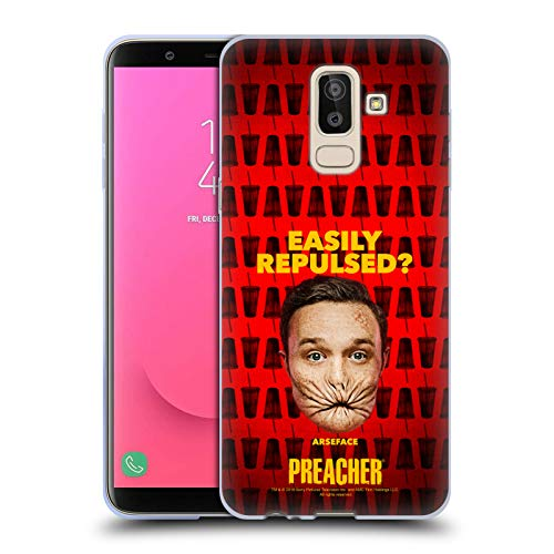 Official Preacher A Face Season 3 Character Art Soft Gel Case for Samsung Galaxy J8 (2018)