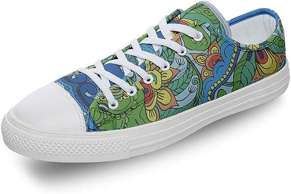 Gerryed Elephant Canvas Shoes Men Slip